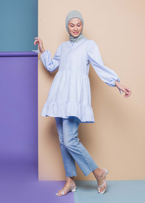 Fiona Top Light Blue