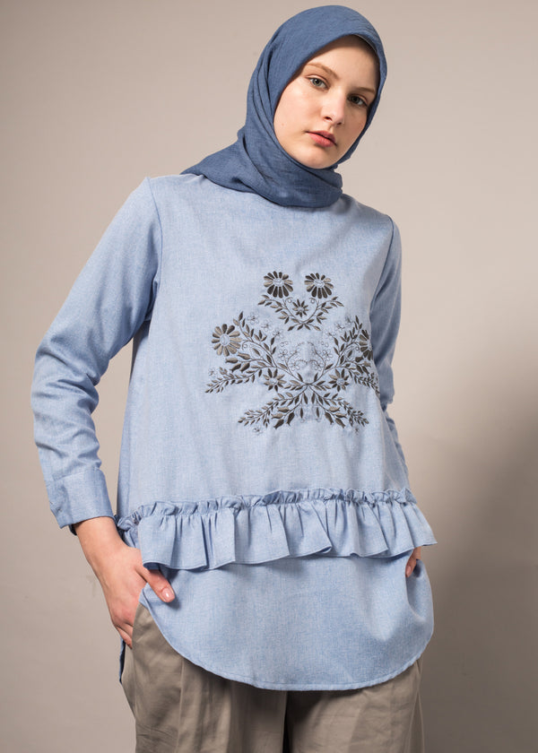 Maza Top Blue