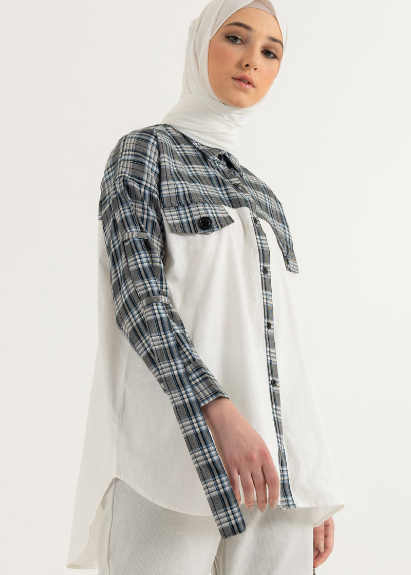 Nida Shirt Broken White