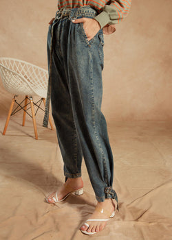 Giana Denim Pants Blue