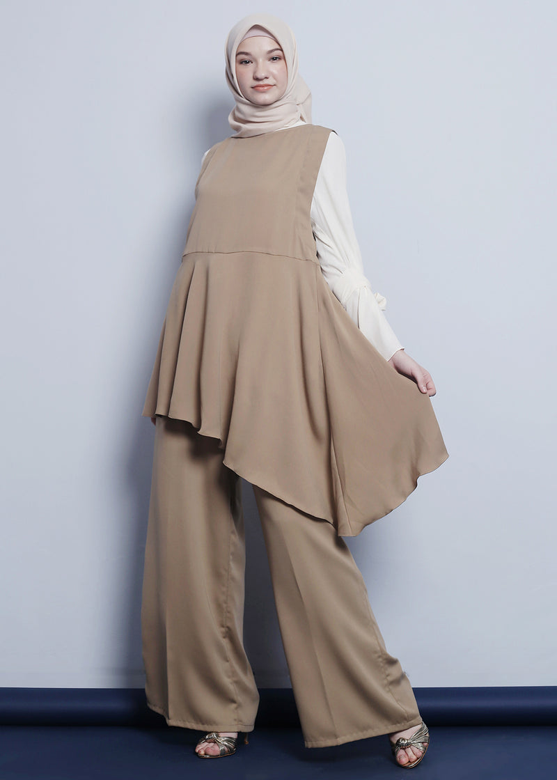Nira Top Set Khaki