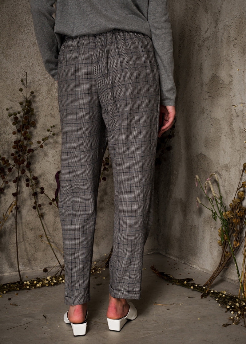 Galea Pants Checked Gray