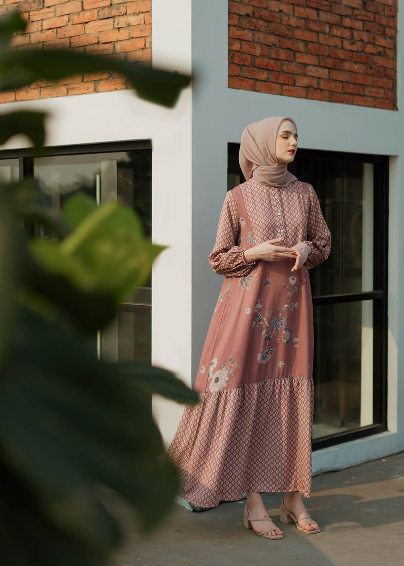 Kala Dress Rosewood