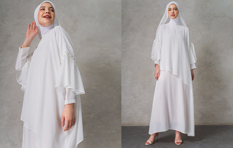 Dira Set Dress White