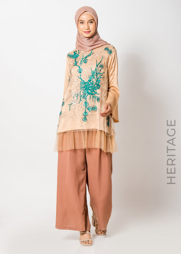 Aruna Top Green