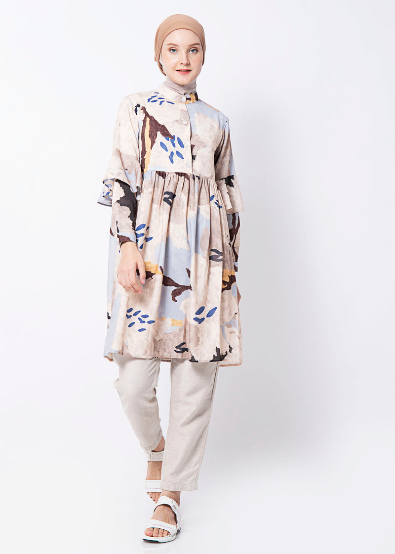 Kaluna Tunic Soft Blue
