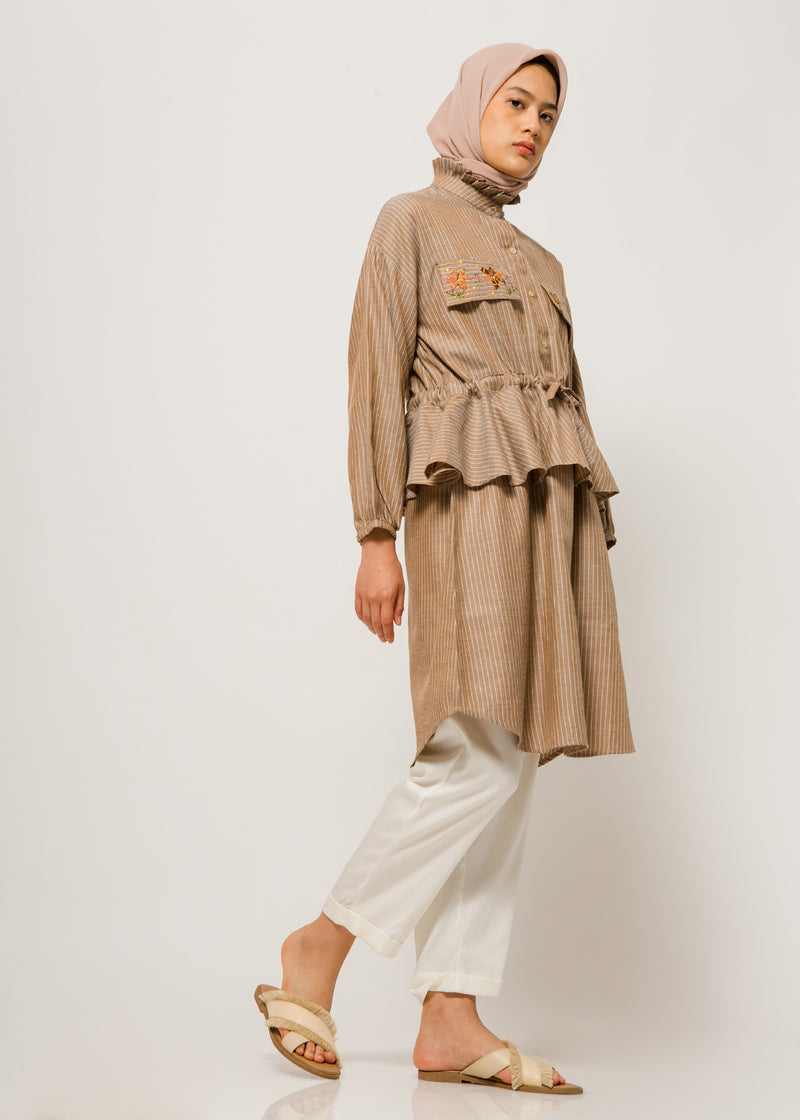Zea Tunic Brown