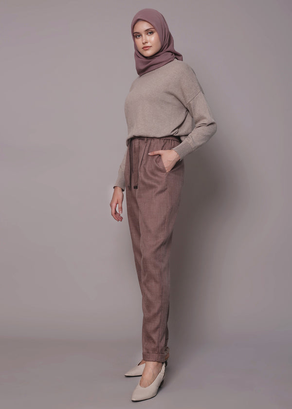 Niza Pants Rosy Brown