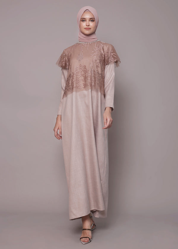 Niel Dress Taupe