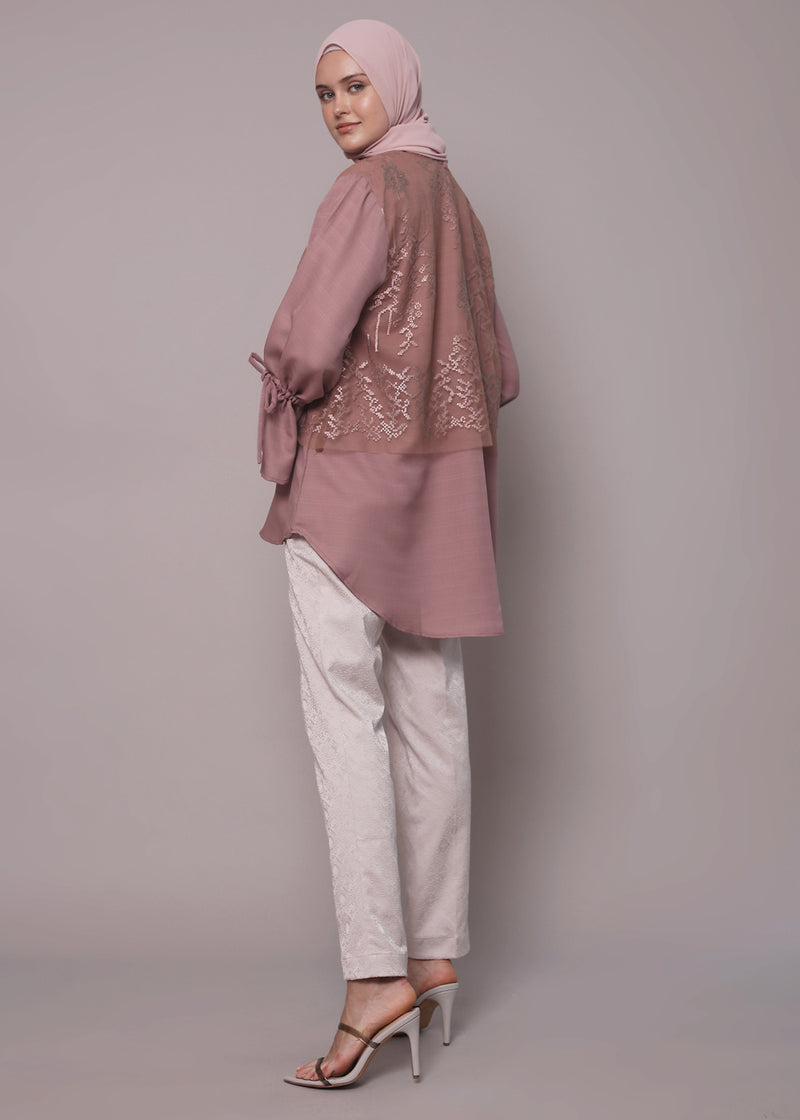 Nimala Top Dusty Pink