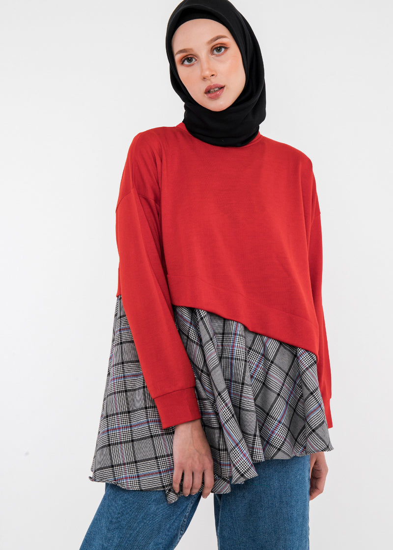 Nexa Sweateshirt Red