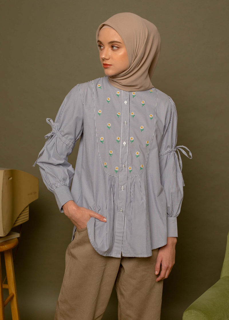 Juwina Shirt Navy