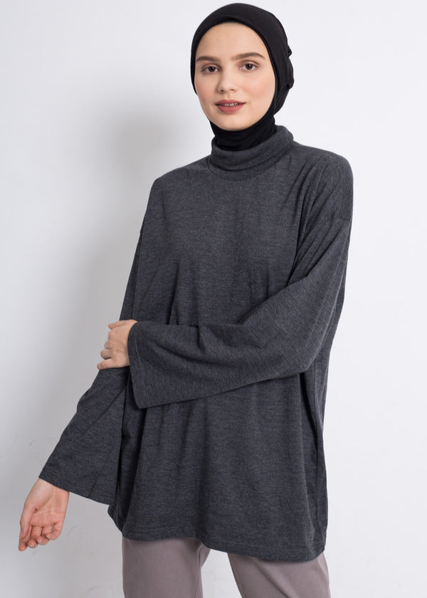 Raza Turtleneck Tshirt Black