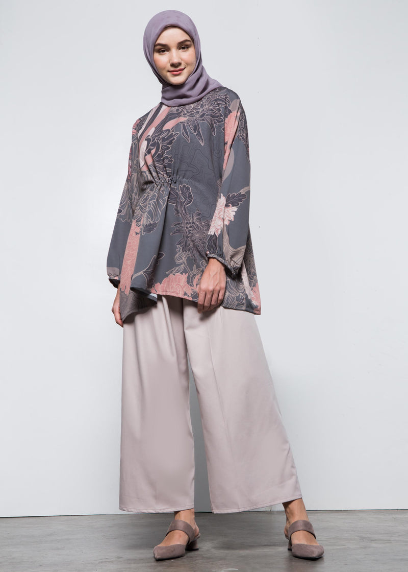 Bivana Top Gray