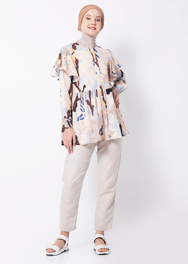Kala Shirt Soft Blue