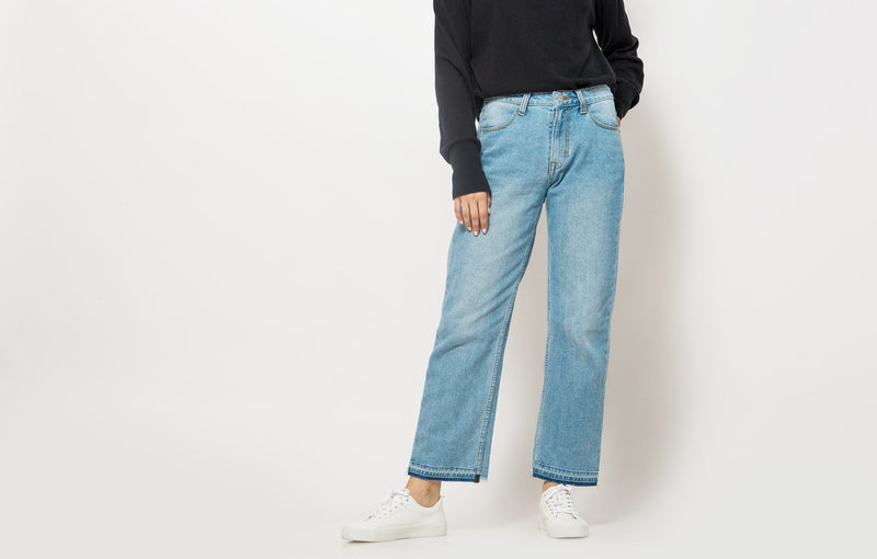 Axila Denim Pants Blue