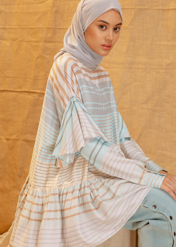 Lira Shirt Stripe Blue