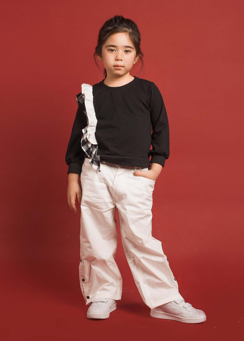 Lizy Pants Off White