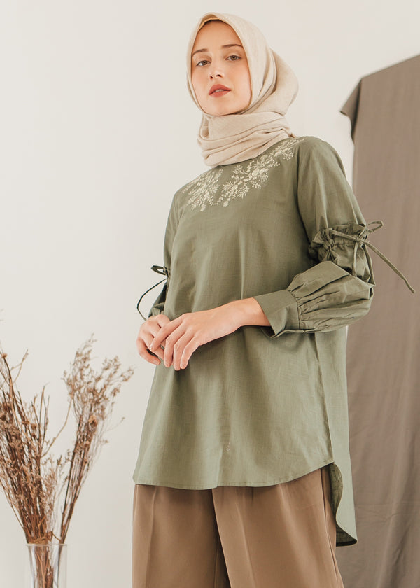 Resya Top Olive