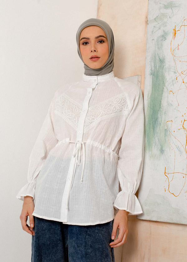 Mila Shirt White