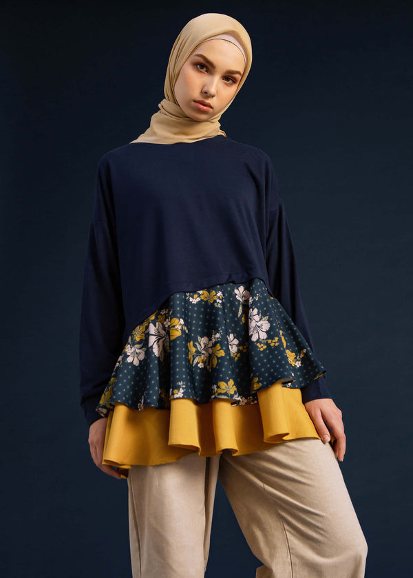 Mila Top Navy
