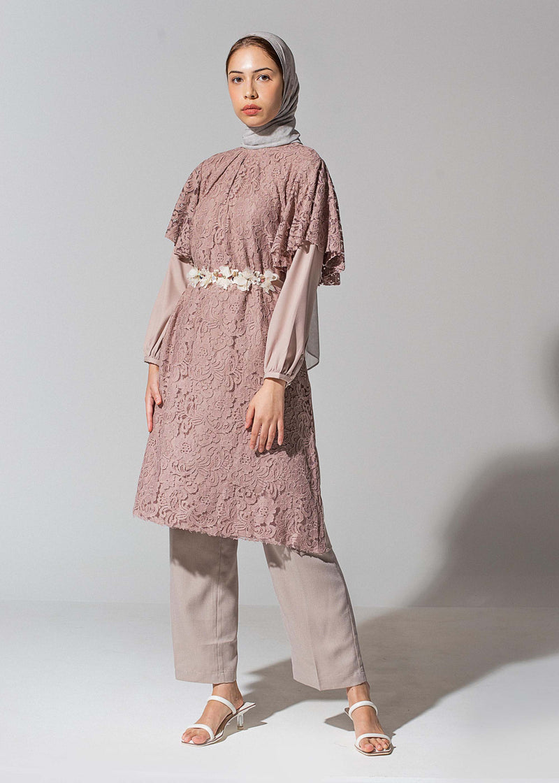 Miqa Tunic Rose Brown