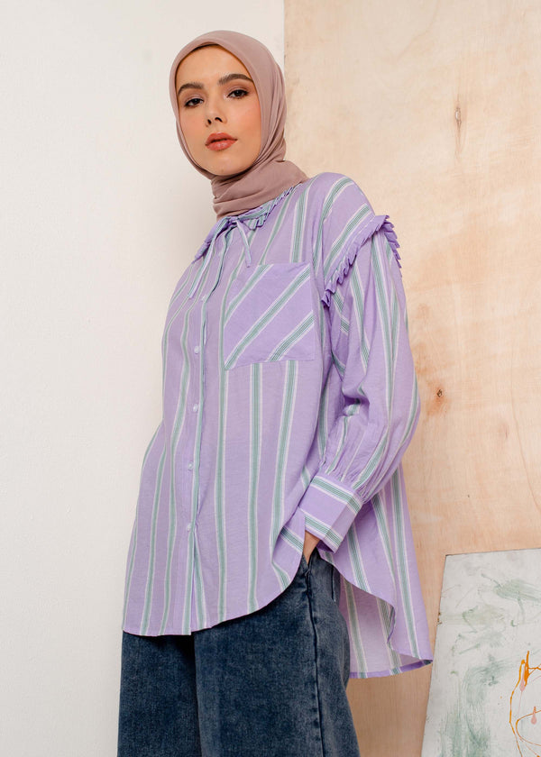 Miza Shirt Purple