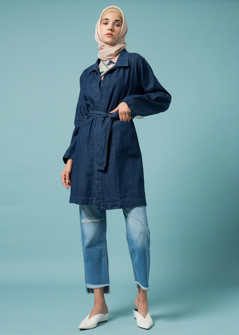 Casandra Outer Denim Blue