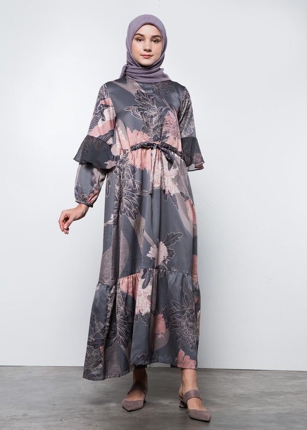 Biva Dress Gray