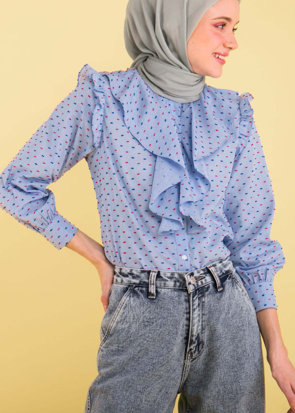 Nala Shirt Cool Blue