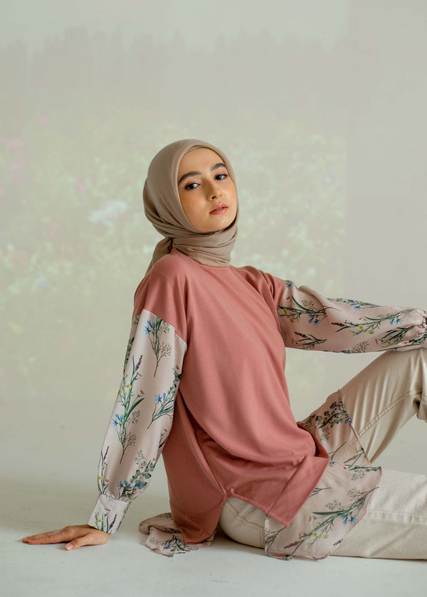 Nara Sweatshirt Dusty Pink