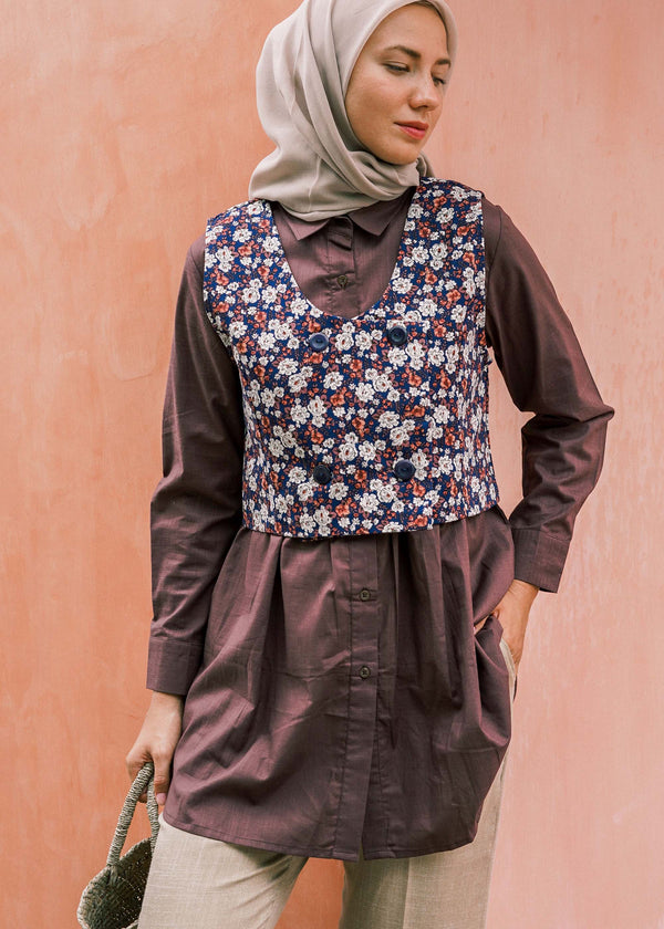Nara Top Set Brown