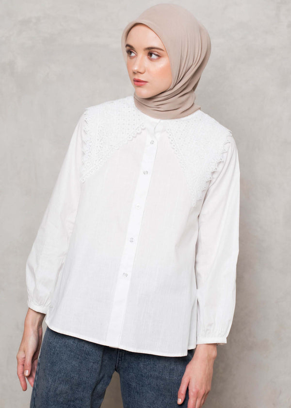 Navala Shirt Off White