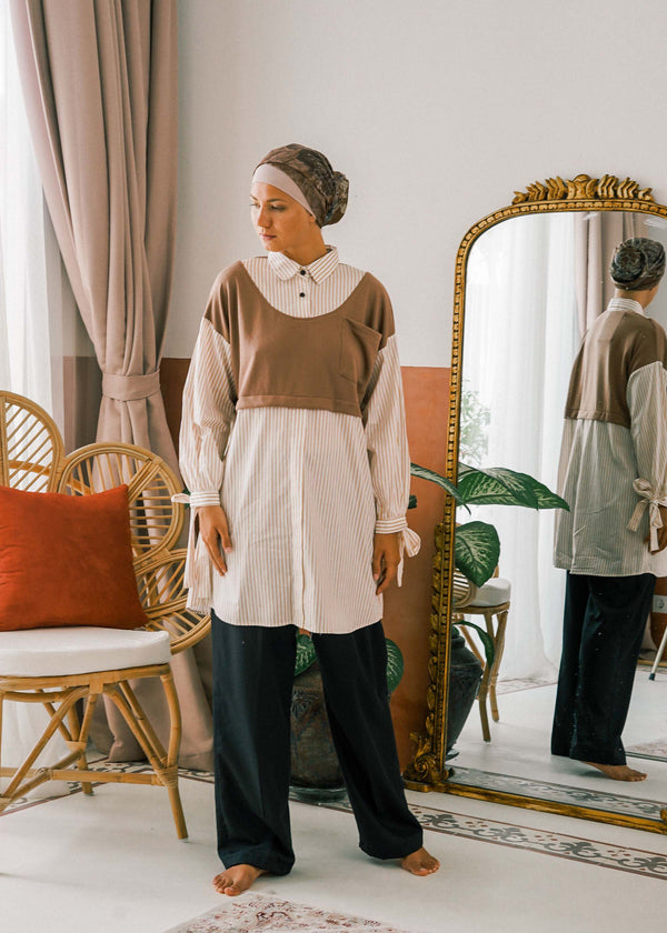 Nazma Top Brown