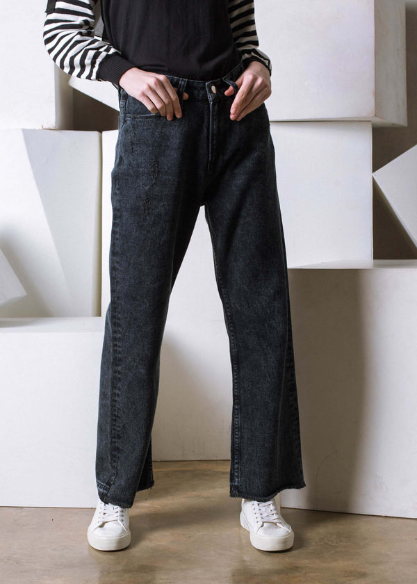 Nixa Denim Pants Black