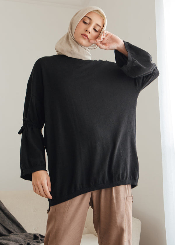 Qia Sweater Black