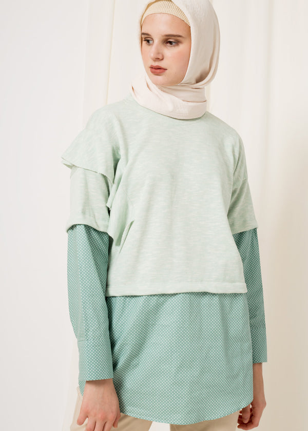 Zelvi Sweatshirt Mint