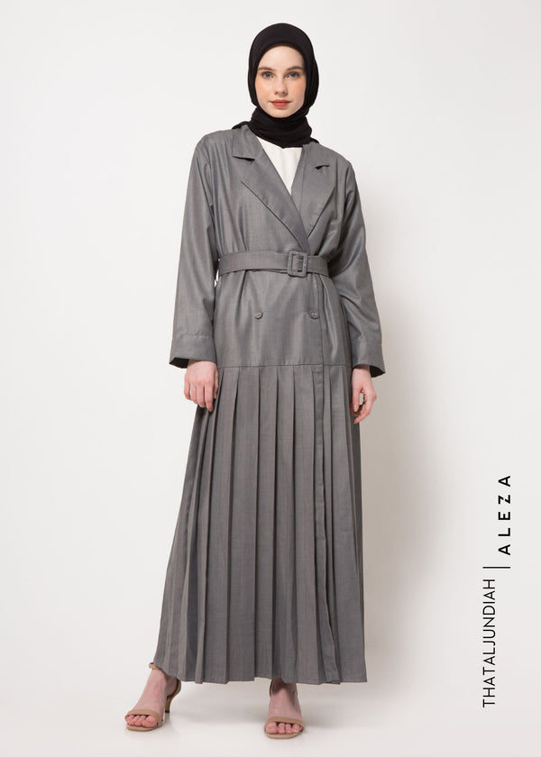 Thama Trench Dress Gray