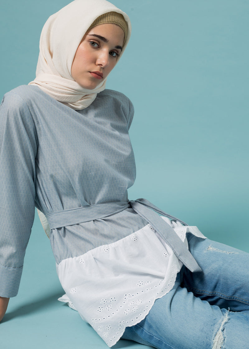 Canaya Top Light Blue