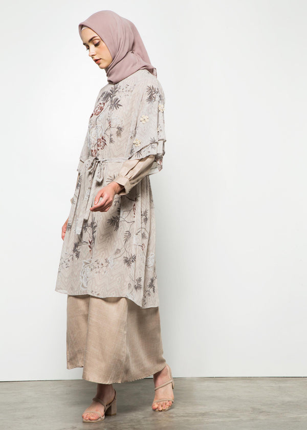 Ranika Set Dress Beige