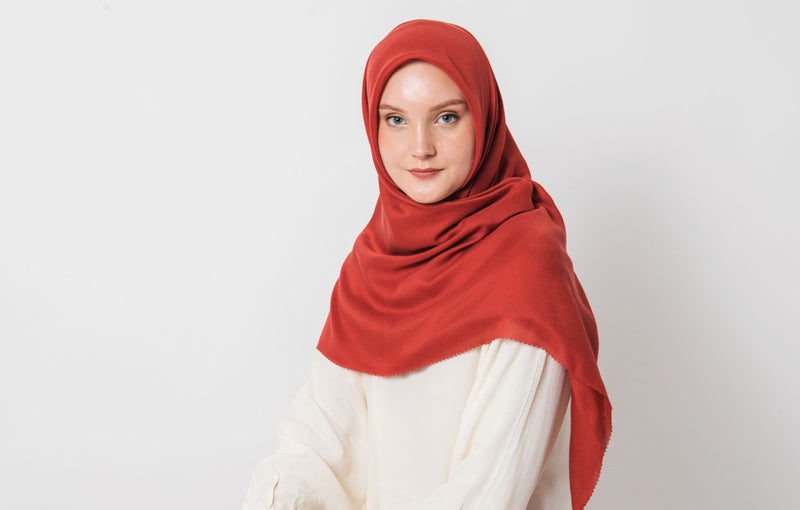 Mizzu Scarves Red Clay