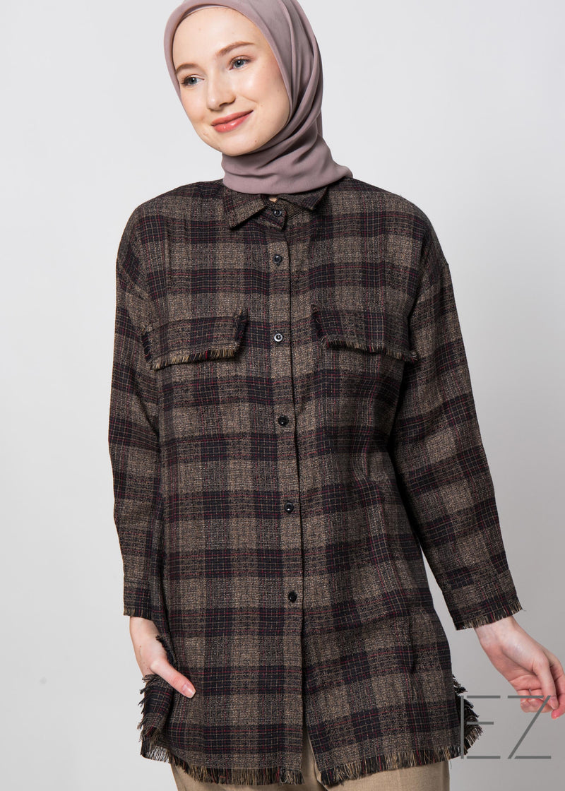 Tivka Tweed Outer Brown
