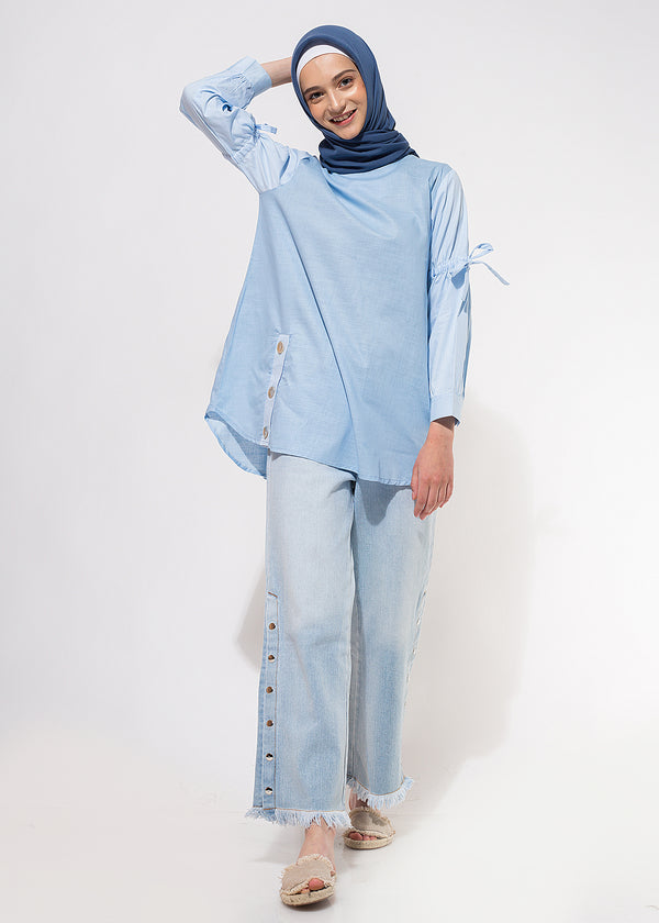 Rindra Top Soft Blue