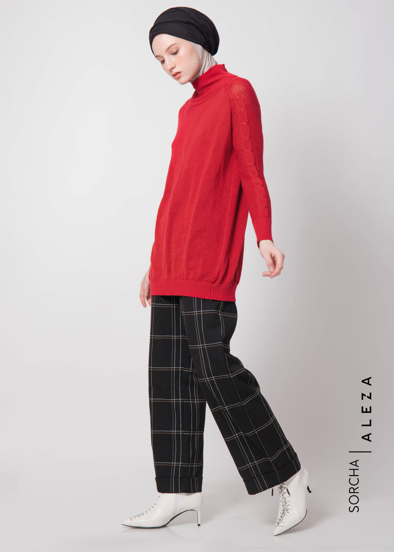 Sherin Sweater Red