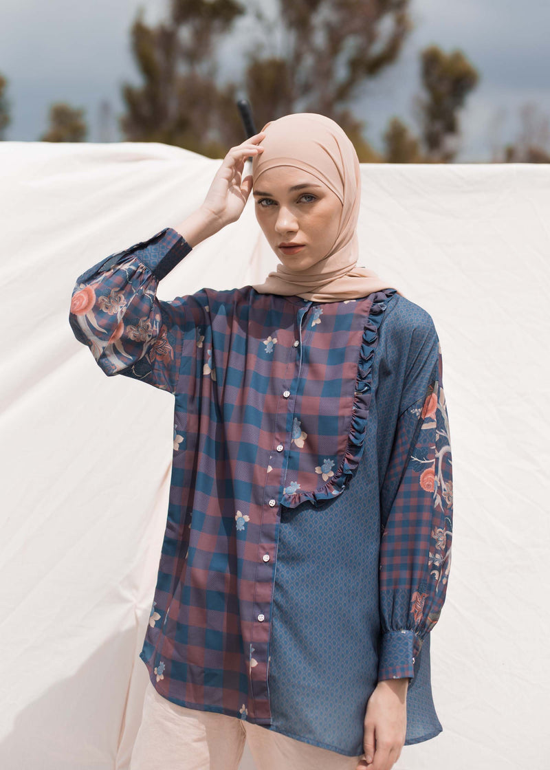 Sabina Shirt  Navy