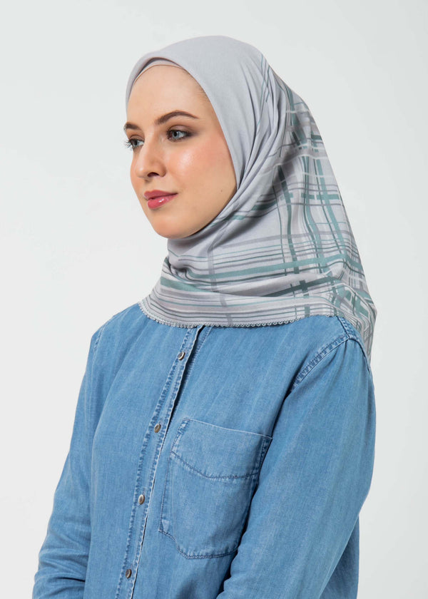 Sahkila Scarves Light Gray