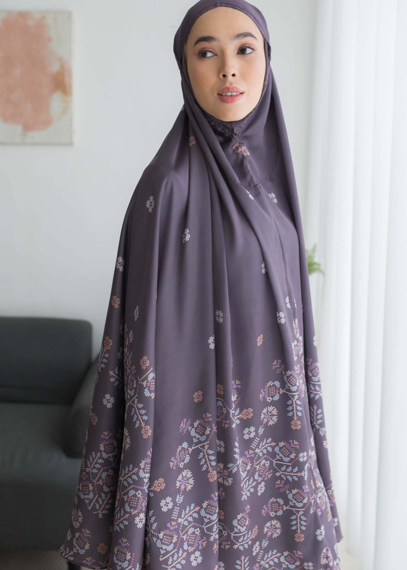 Saira Prayer Set Burgundy