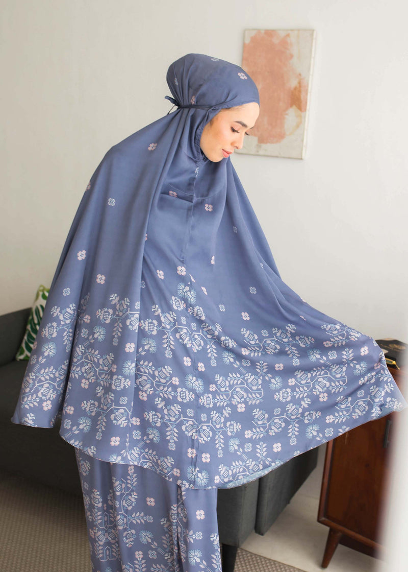 Saira Prayer Set Navy