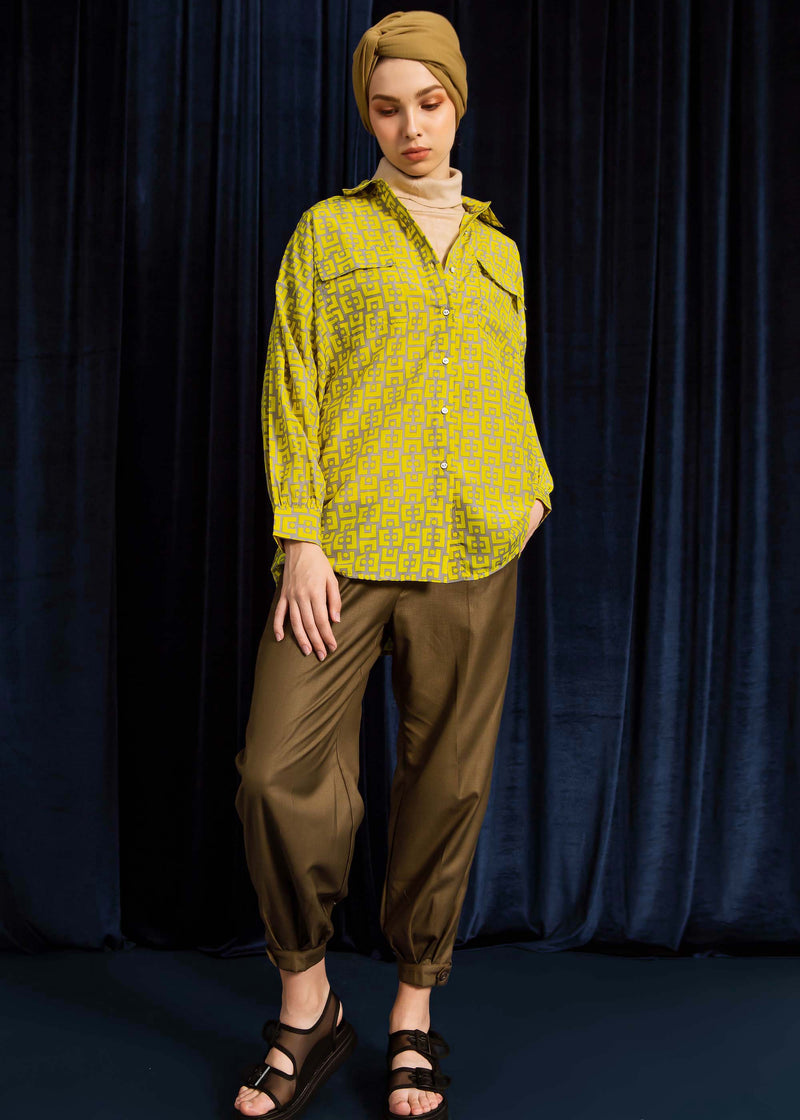 Silda Shirt Yellow