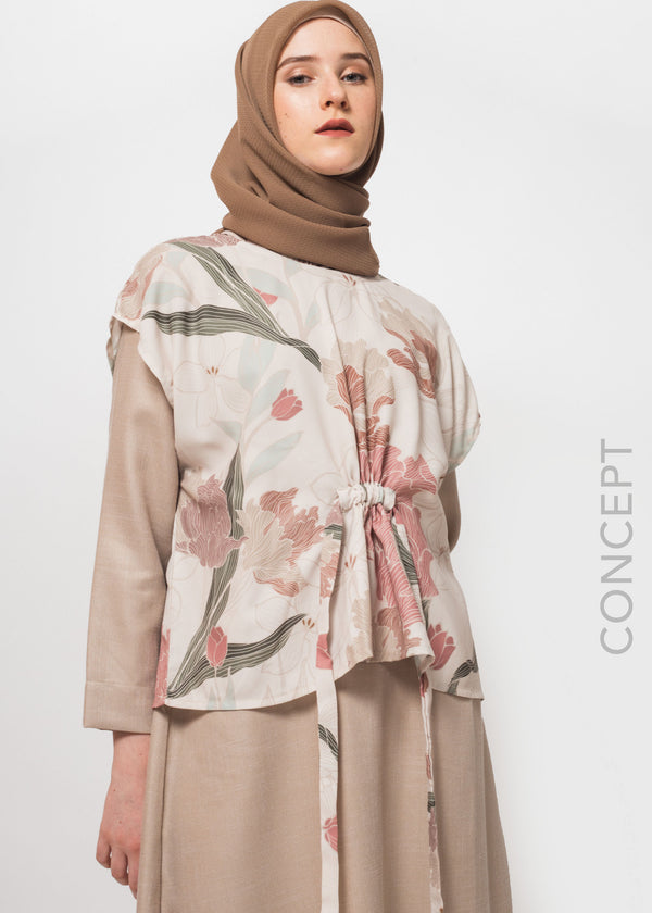 Layra Dress Beige